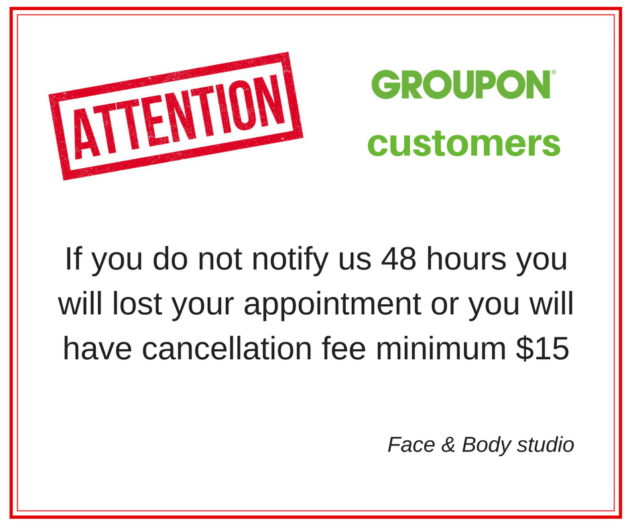Cancellation Policy - European Spa and skincare Tampa, Fl